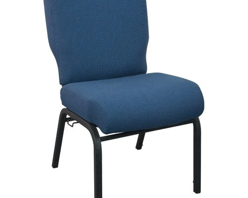 PCRCB-101 Church Chair in Navy Blue