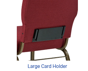 CFP-CARD418 Church Chair Card Holder